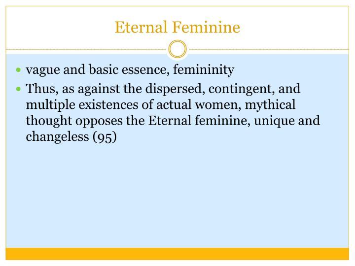 Eternal Feminine