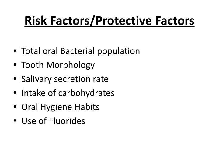 Risk Factors/Protective Factors