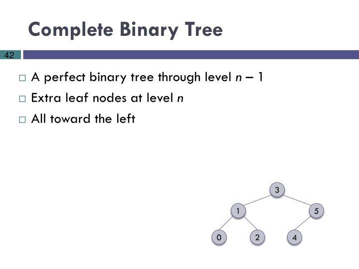 Complete Binary Tree
