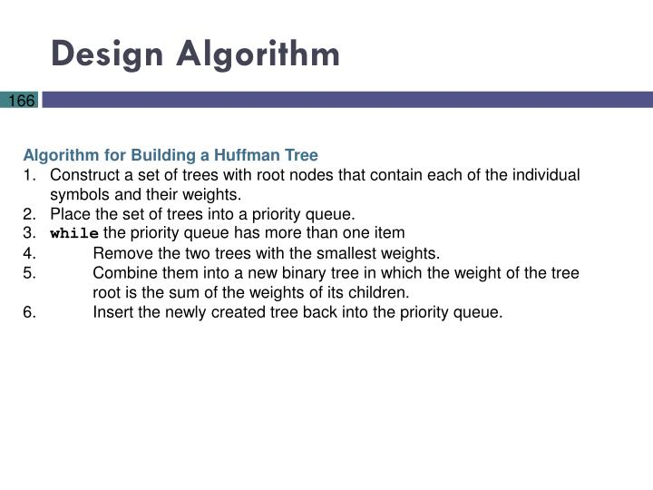 Design Algorithm