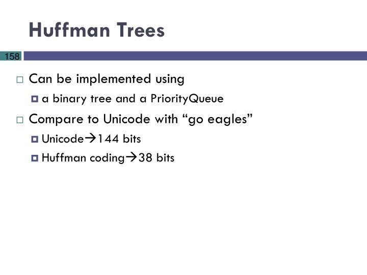 Huffman Trees