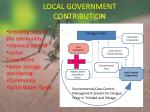 local government contribution