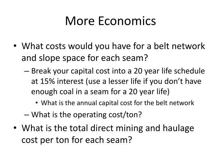 More Economics