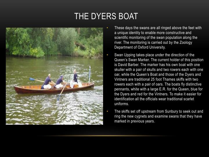 The Dyers Boat