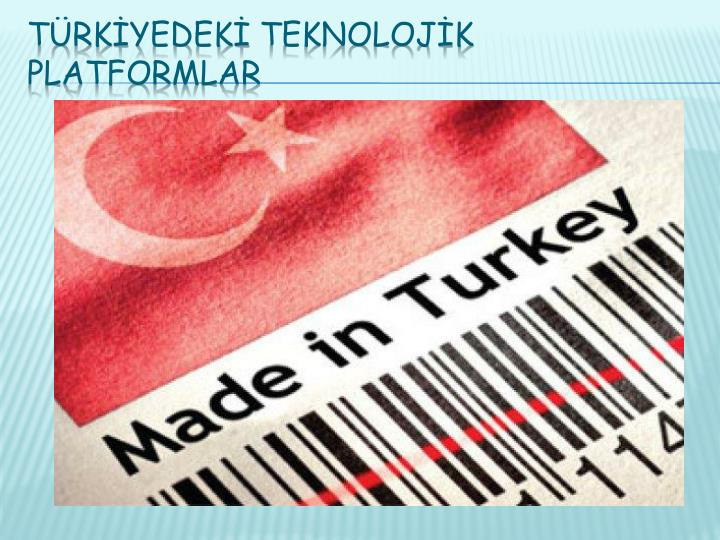 Türkİyedekİ