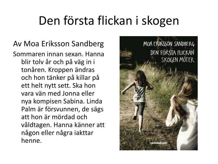 Den första flickan i skogen