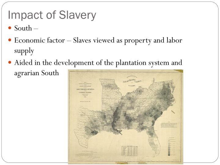 Impact of Slavery