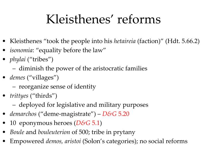 Kleisthenes