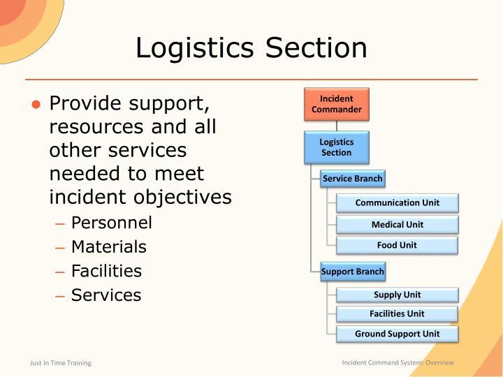 Logistics Section