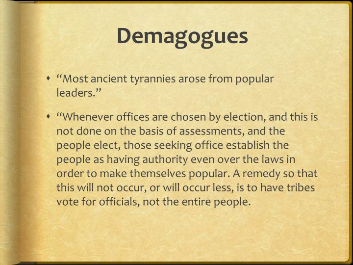 Demagogues