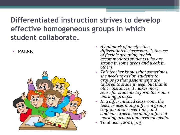 differentiated instruction powerpoint presentation