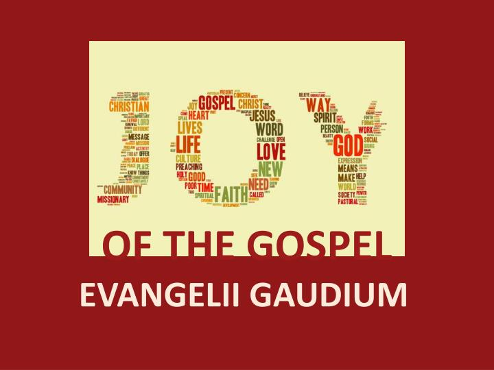 OF THE GOSPEL