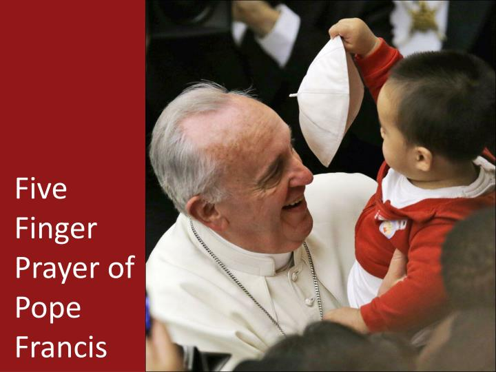 Five Finger Prayer of Pope Francis