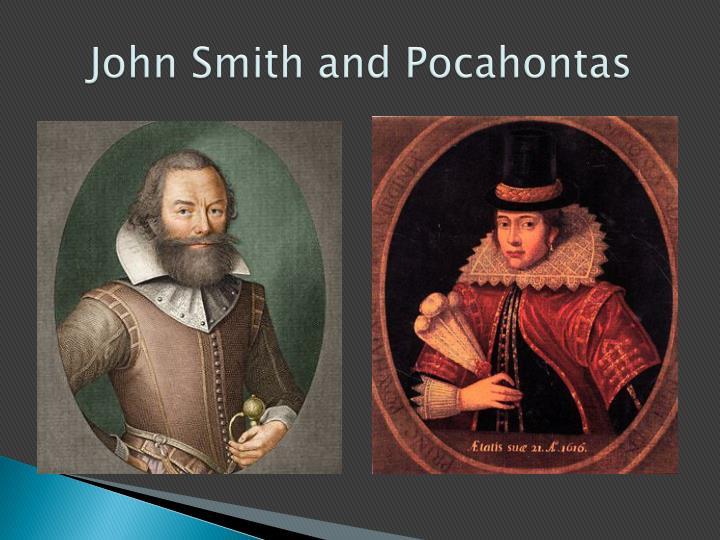 John Smith and Pocahontas
