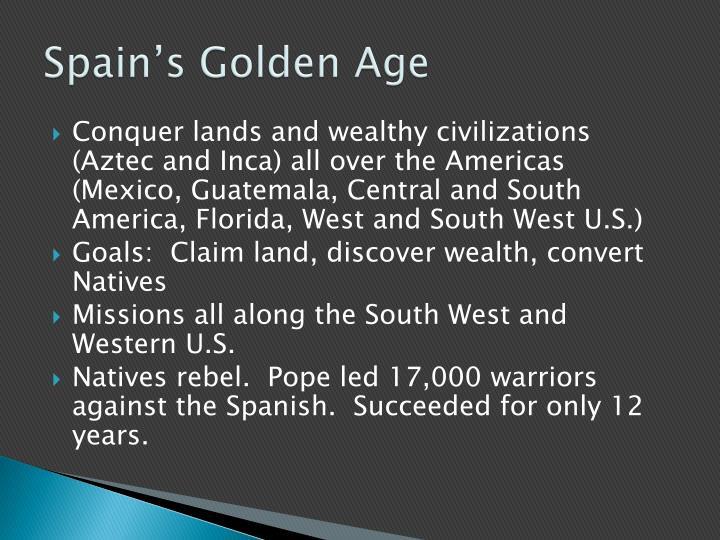 Spain's Golden Age