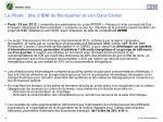 le pilote site d ibm de montpellier et son data center