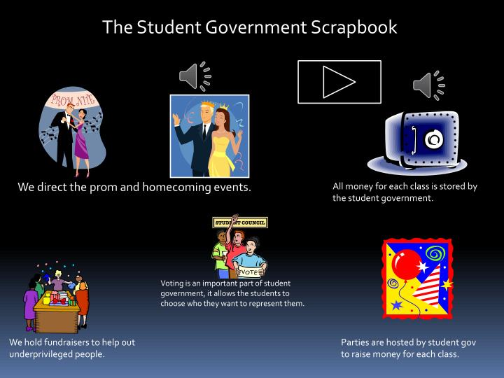 The Student Government Scrapbook