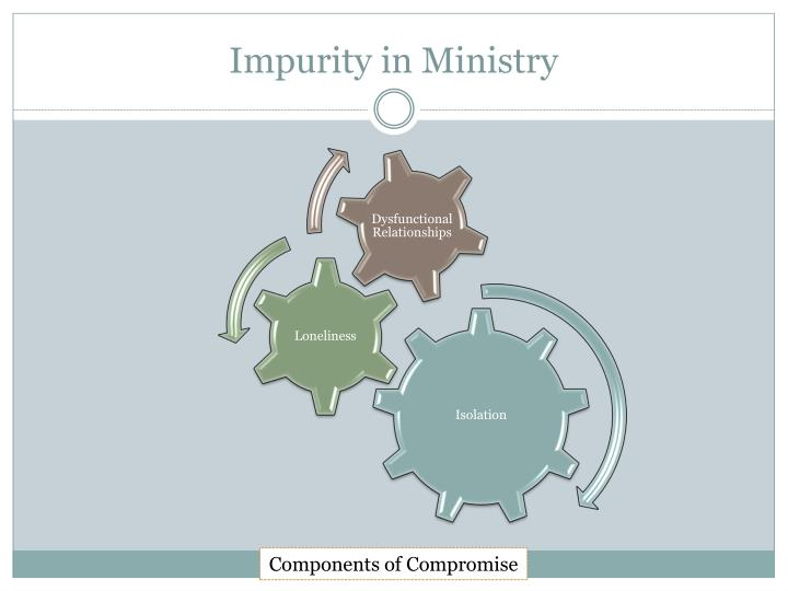 Impurity in Ministry
