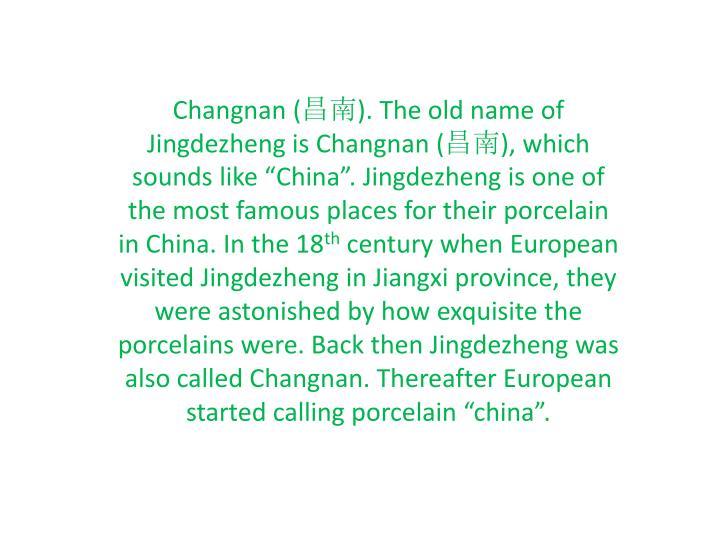 Changnan