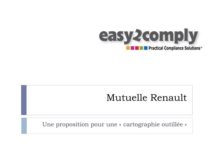 Mutuelle renault