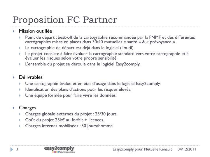 Proposition FC Partner