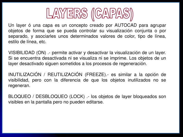 LAYERS (CAPAS)