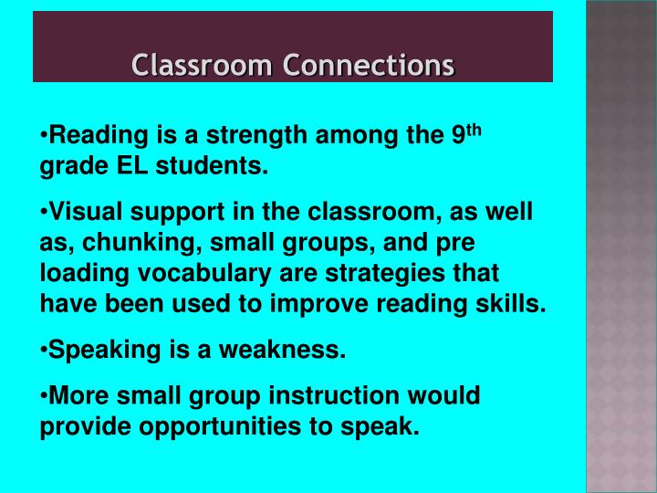 Classroom Connections