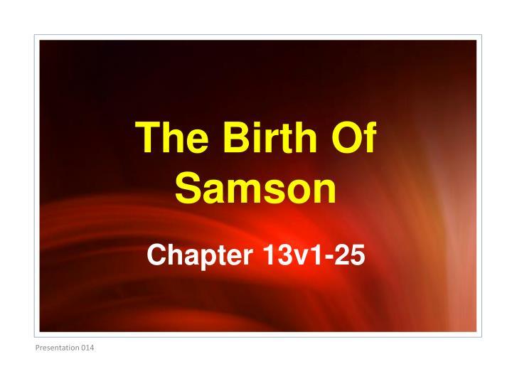 Chapter 13v1-25