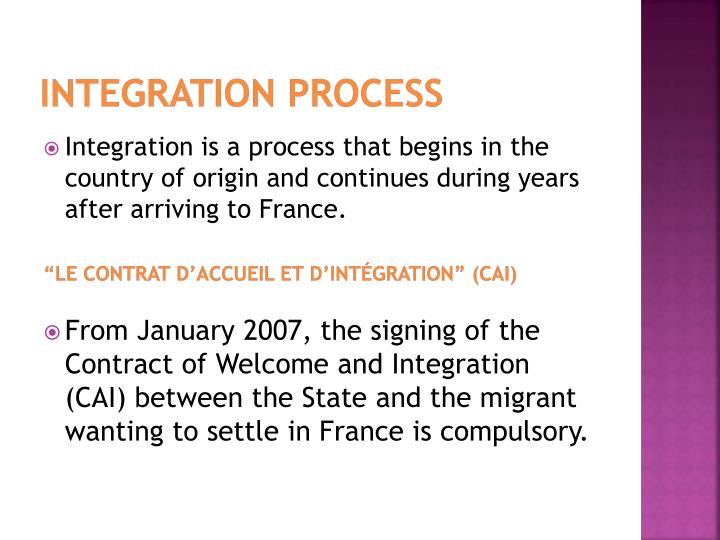 Integration Process