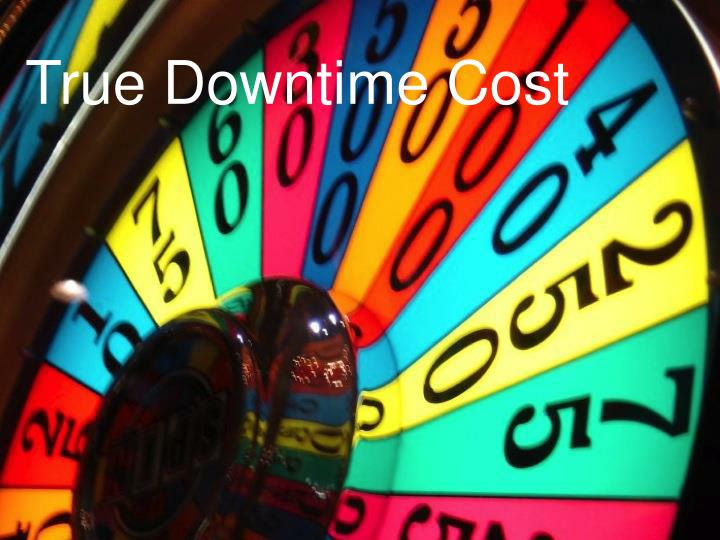 True Downtime Cost