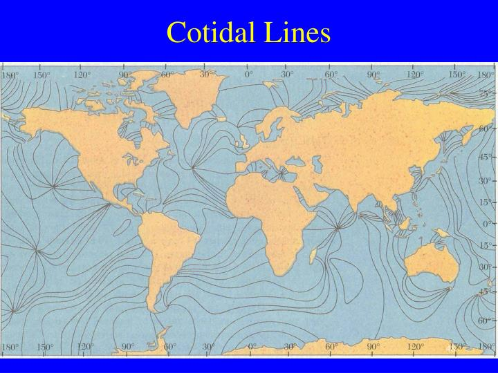 Cotidal Lines