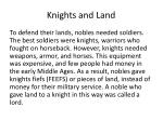 knights and land
