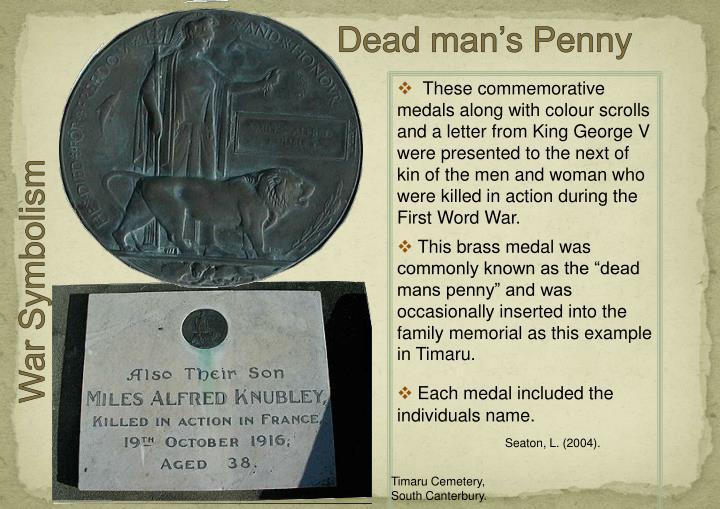 Dead man's Penny