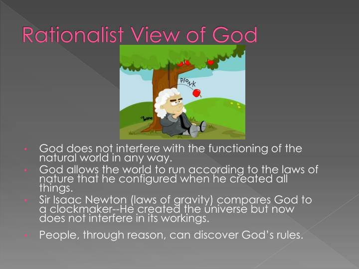 Rationalist View of God