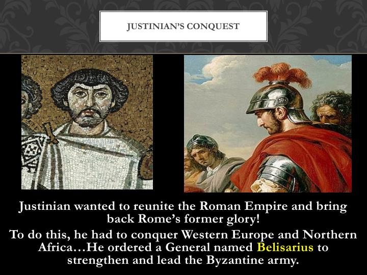 Justinian's Conquest