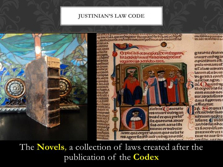 Justinian's Law Code