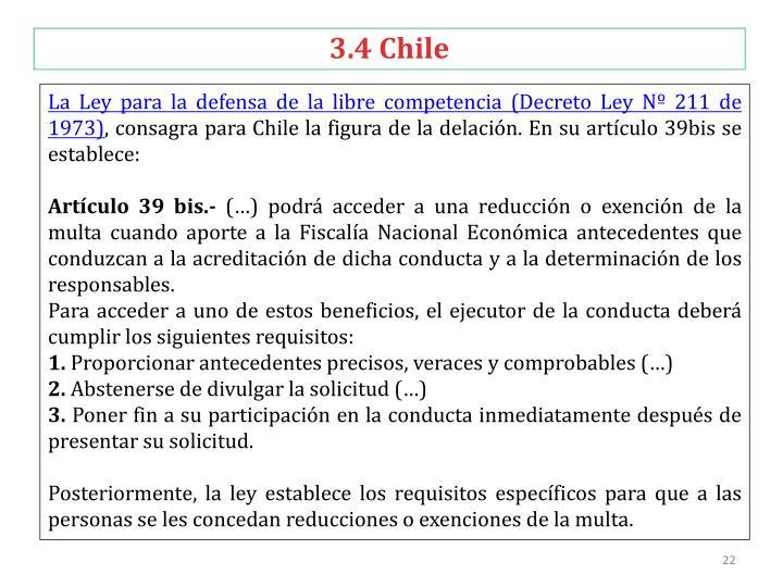 3.4 Chile
