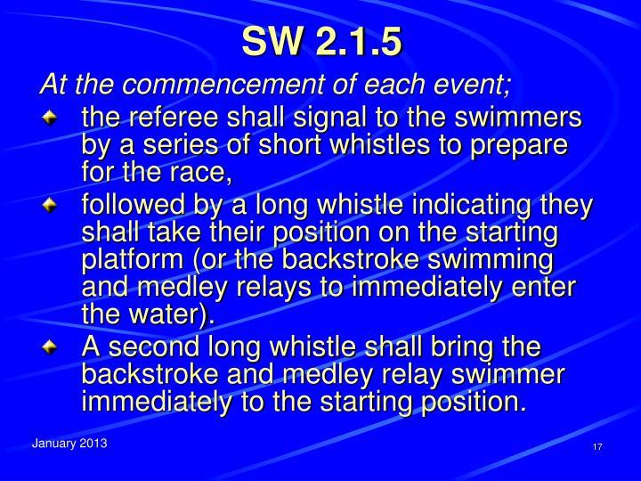 SW 2.1.5