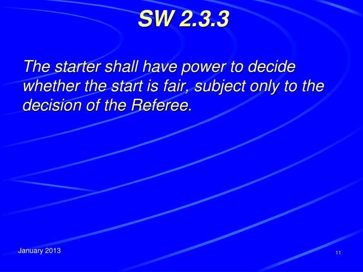 SW 2.3.3