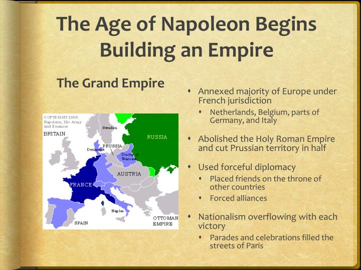The Age of Napoleon Begins