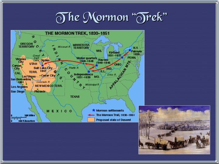 "The Mormon ""Trek"""