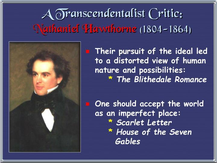 A Transcendentalist Critic: