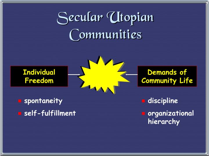 Secular Utopian Communities