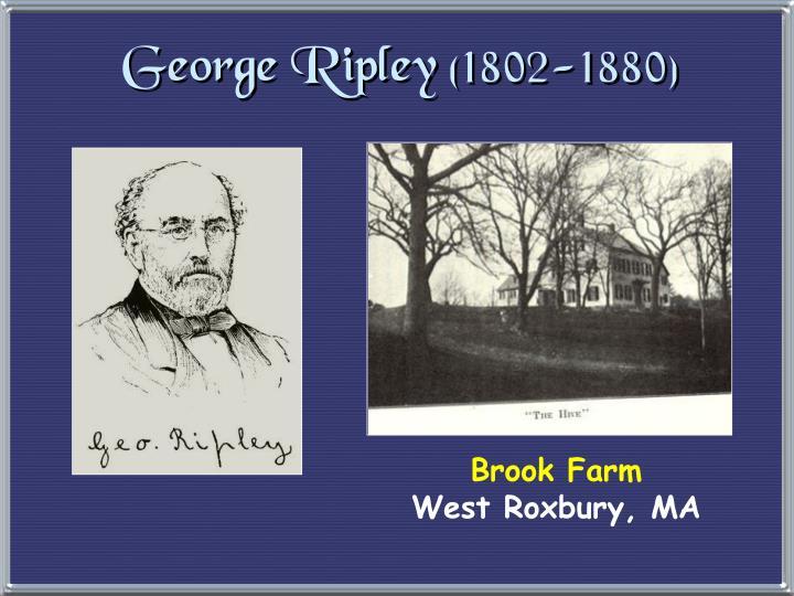 George Ripley