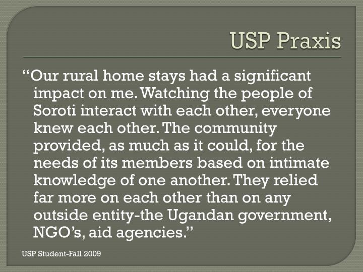 USP Praxis