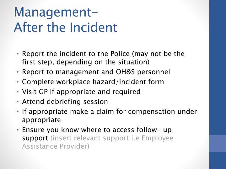 Management-