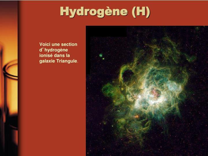 Hydrogène (H)