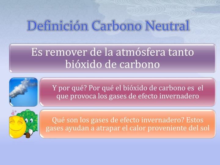 Definici n carbono neutral