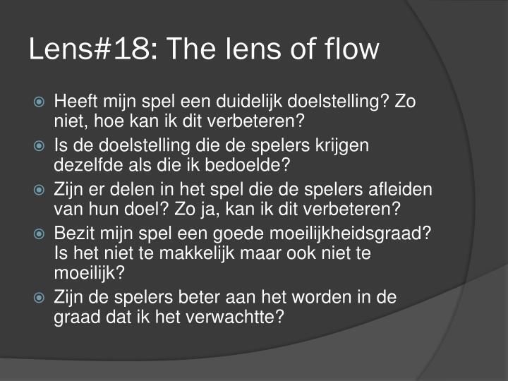 Lens#18: The lens of