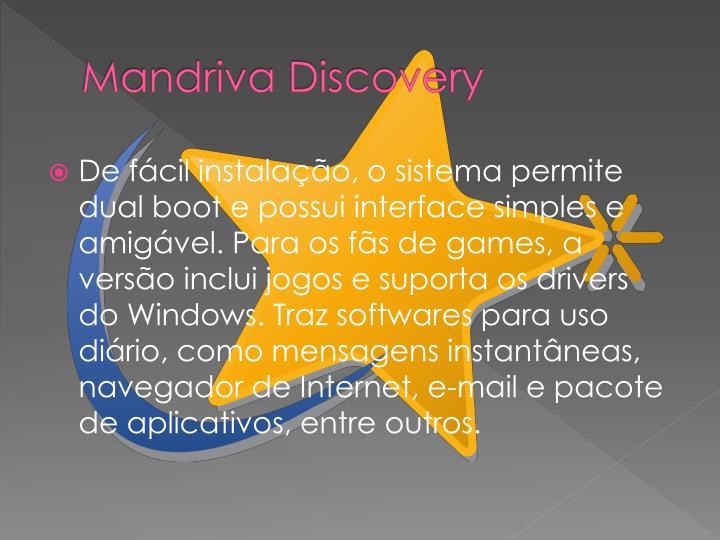 Mandriva Discovery